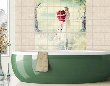 Produktfoto Tile Mural Strawberry Princess