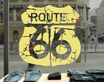 Produktfoto Window Sticker no.EK165 Route 66 II