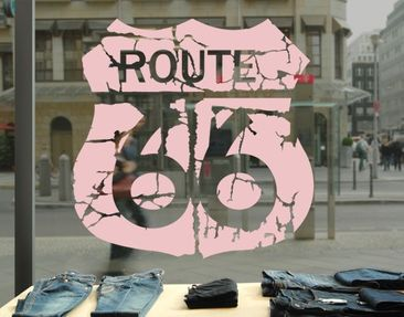 Product picture Window Sticker no.EK165 Route 66 II