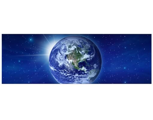 Produktfoto Leinwandbild No.38 Erde im Weltall 120x40cm