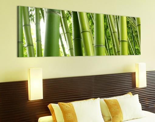 Produktfoto Leinwandbild No.29 Bamboo Trees 120x40cm