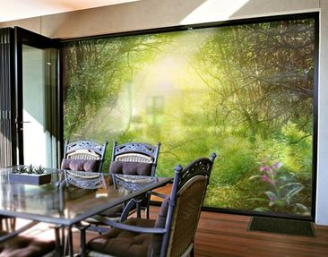 Produktfoto XXL Window Mural Dream Magic Forest