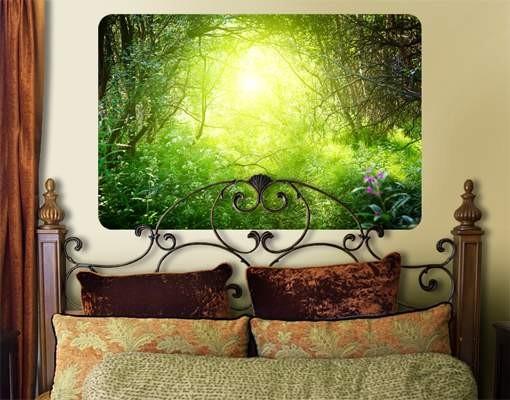 Produktfoto Selbstklebendes Wandbild Traumzauberwald