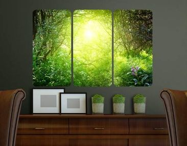 Produktfoto Wall Mural Dream Magic Forest Triptych I