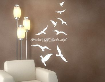 Produktfoto Wall Decal no.PP4 Your Own Words Freedom...