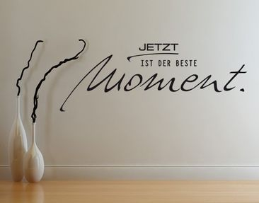 Product picture Wall Decal no.UL962 Jetzt ist der beste...