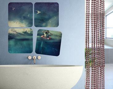 Produktfoto Selbstklebendes Wandbild Lost Quattro