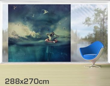 Product picture XXL Window Mural Lost