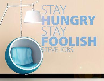 Immagine del prodotto Adesivo murale no.EV40 Stay hungry