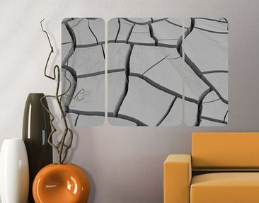 Product picture Wall Mural African Earth Triptych II