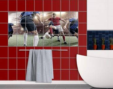 Produktfoto Tile Mural Football rivals