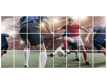 Product picture Tile Mural Football rivals