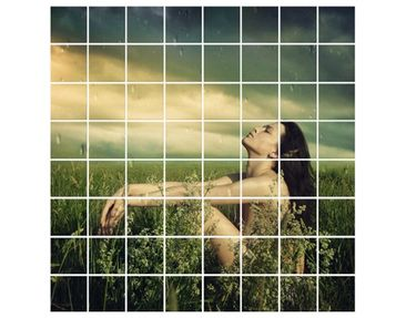 Product picture Tile Mural Summer rain