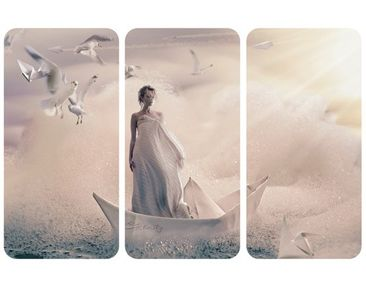 Product picture Wall Mural Eternal Journey Triptych I