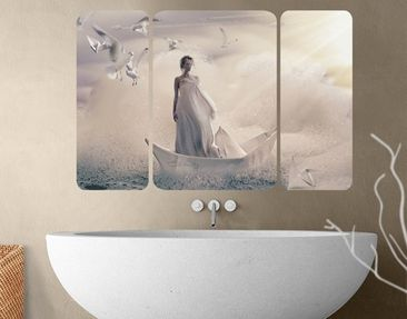 Produktfoto Wall Mural Eternal Journey Triptych II