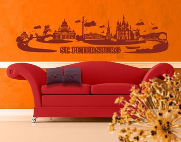 Produktfoto Wall Decal no.JR32 Saint Petersburg...