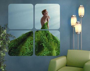 Produktfoto Selbstklebendes Wandbild Mother Nature Quattro