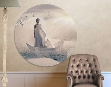Product picture Canvas Art Circle Eternal Journey