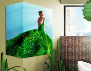 Produktfoto Corner Canvas Art Mother Nature 1:2
