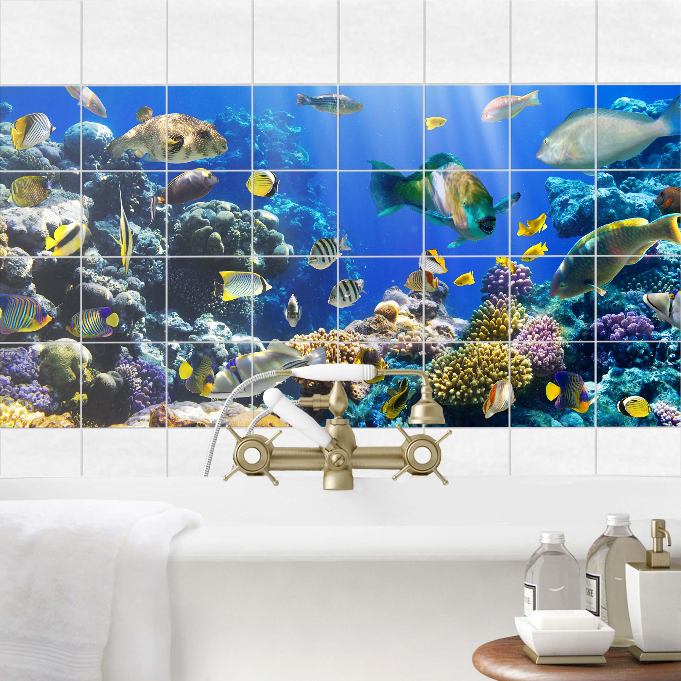 Fliesenbild Underwater Reef
