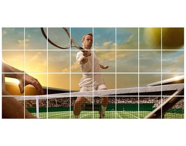 Product picture Tile Mural Tennis Player