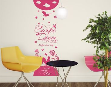 Produktfoto Wall Decal no.JS116 Carpe Diem