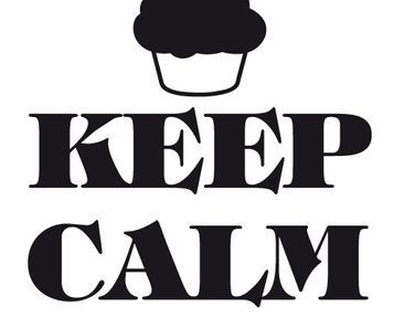 Product picture Wall Decal no.EV71 Keep Calm And Eat A...