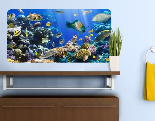 Produktfoto Selbstklebendes Wandbild Underwater Reef