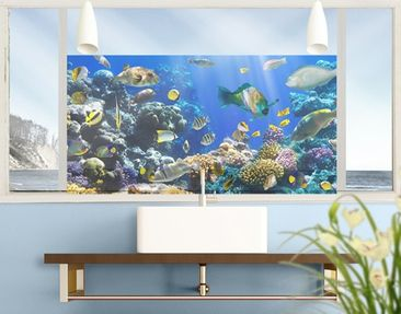 Product picture Window Mural Underwater Reef