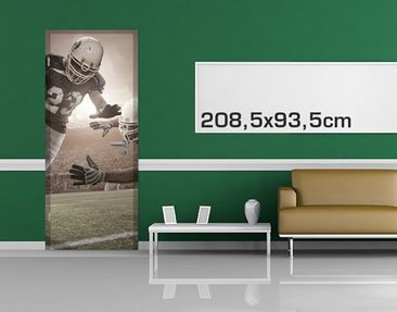 Product picture Door Photo Wall Mural Tackling
