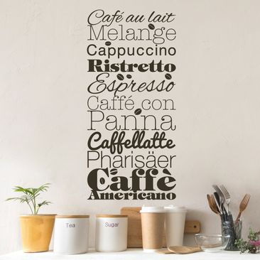 Produktfoto Wall Decal no.EV64 Special Coffee