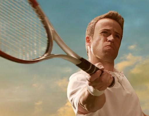 Selbstklebendes wandbild tennis player - Feuerwehrmann sam wandbild ...