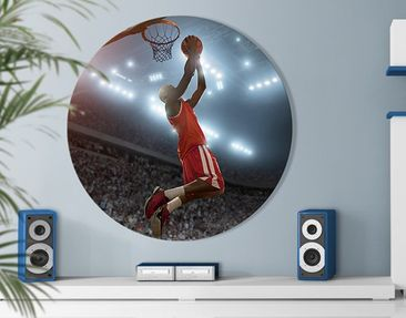 Product picture Canvas Art Circle Dunking