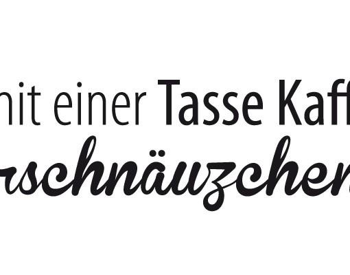 Produktfoto Wandtattoo Sprüche - Wandsprüche No.EV63 Zuckerschnäuzchen