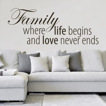 Product picture Wall Decal No.EK354 Family