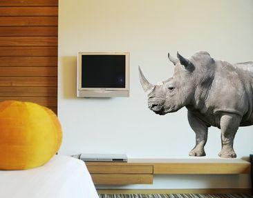 Immagine del prodotto Adesivo murale no.149 Rhino 100x68cm