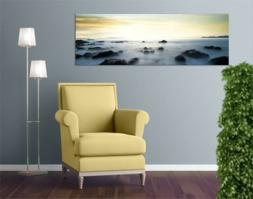 Immagine del prodotto Stampa su tela no.117 Sunset Over The Ocean 120x40cm