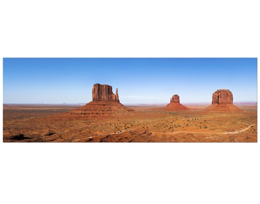Produktfoto Leinwandbild No.118 Rambling Colorado-Plateau 120x40cm