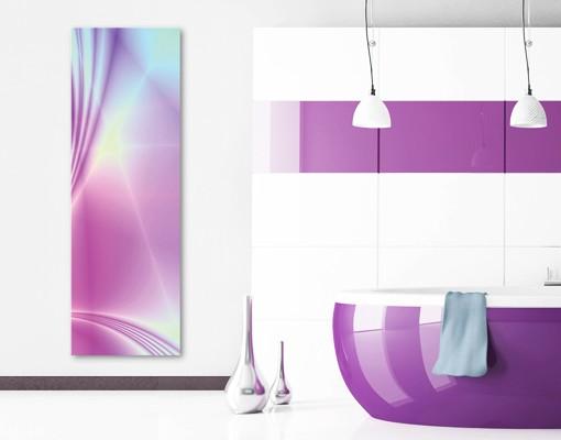 Produktfoto Leinwandbild No.200 Glossy Pastels 40x120cm