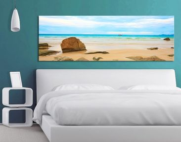 Product picture Canvas Art no.193 The Beach 120x40cm