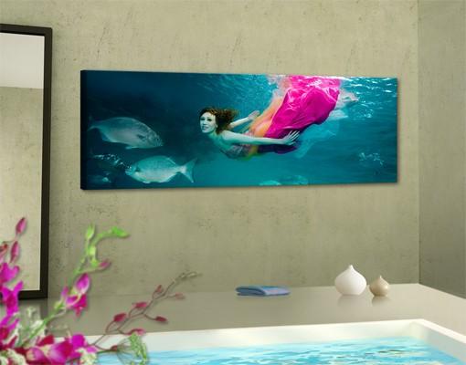 Produktfoto Leinwandbild No.221 Underwater Beauty 120x40cm
