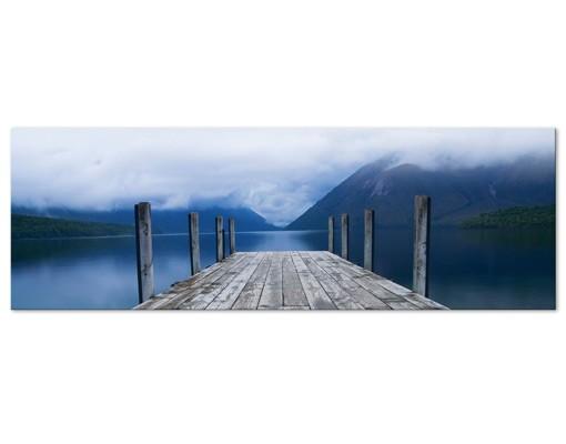 Produktfoto Leinwandbild No.399 Nelson Lakes National Park 120x40cm