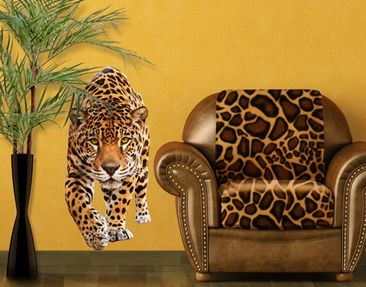 Produktfoto Wandtattoo No.648 Creeping Jaguar 70x148cm