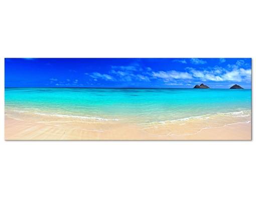 Produktfoto Leinwandbild No.476 Paradise Beach 120x40cm