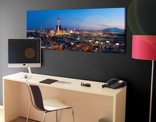Produktfoto Leinwandbild No.549 Viva Las Vegas 120x40cm