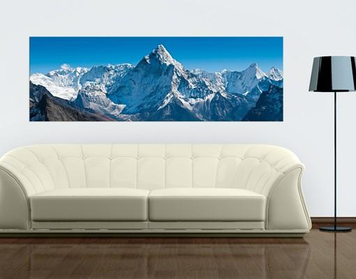 Produktfoto Leinwandbild No.567 Der Himalaya 120x40cm