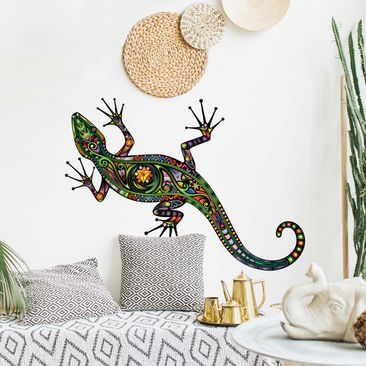 Produktfoto Wall Decal no.652 Gecko Pattern