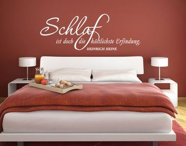 Product picture Wall Decal no.UL980 Schlaf