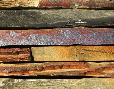 Product picture Canvas Art no.591 Stack Of Planks...