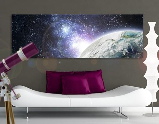 Produktfoto Leinwandbild No.609 Galaxy Light 120x40cm